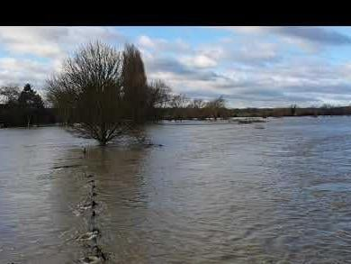 Flooding at Great River Ouse last autumn