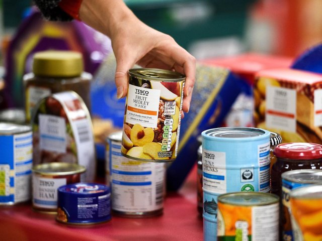 food collection points will be established in Milton Keynes' Tesco stores this summer