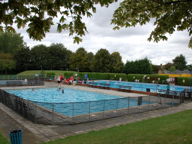 The old Wolverton swimming pool. Photo: Living Archive