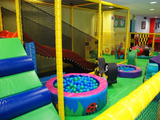 The toddler area at 360 Play