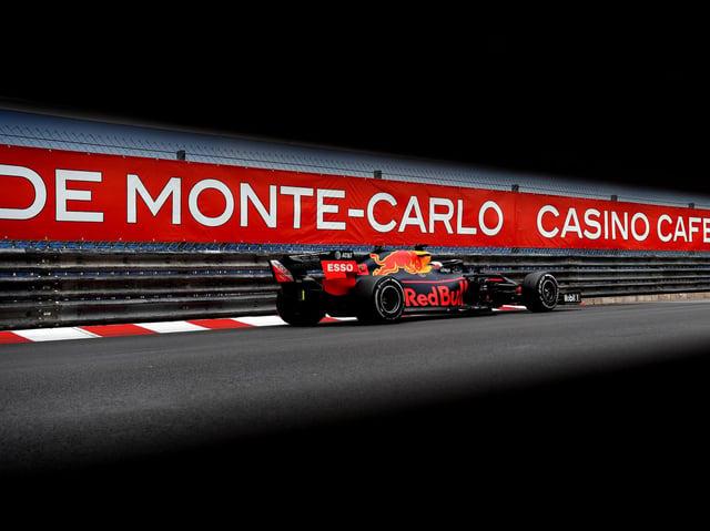Max Verstappen at Monaco in 2019