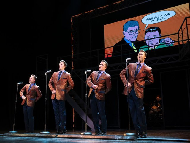 The latest US Tour of Jersey Boys
