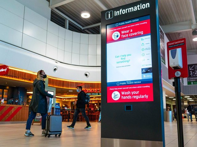 The new wayfinding system
