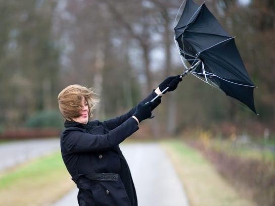 High winds in MK