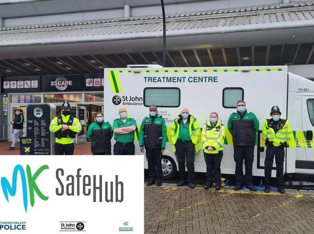 The Safe Hub is at Xscape