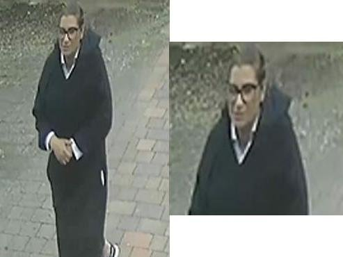 Police officers want to speak to this woman in connection to a burglary in Milton Keynes