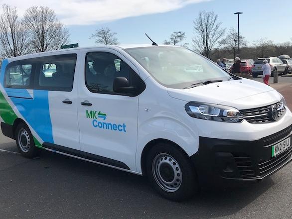 An MK Connect vehicle. Photo: busandtrainuser.com