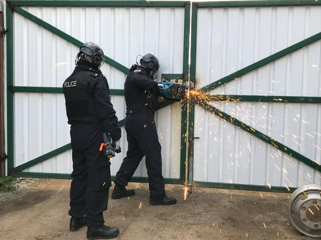 Police raids completed across the Thames Valley on May 26