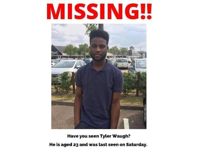 Please call police if you have seen Tyler
