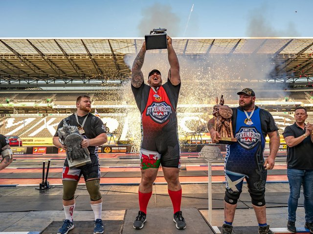 Gary Bilton was declared the strongest man in the UK