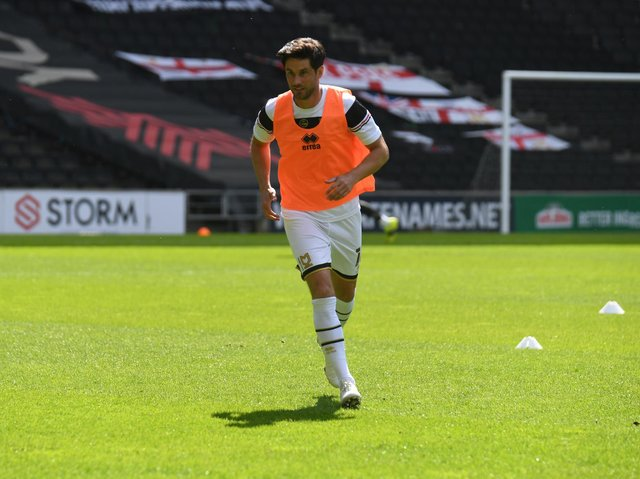Andrew Surman is one of five players out of contract this summer to be offered new deals at Stadium MK