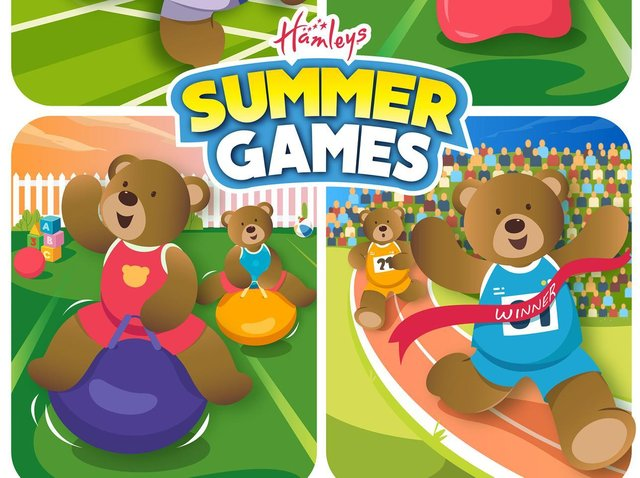 Hamleys is launching its summer games programme