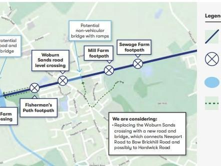 Woburn Sands bypass plan