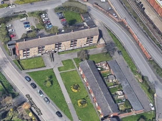 Wolverton from the air (Google)