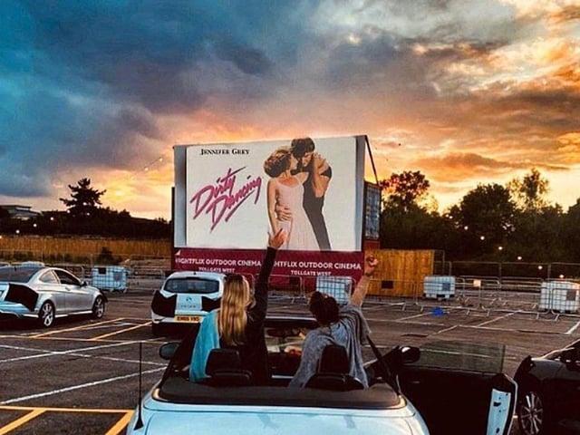 Drive-in cinema is proving a big success in MK