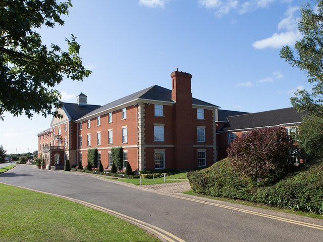 Whittlebury Park luxury hotel and spa