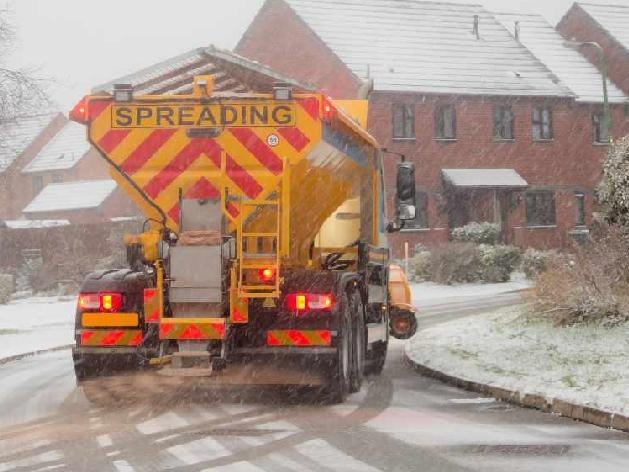 The council's gritting teams have been praised