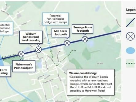 East West Rail will have a big impact on Woburn Sands