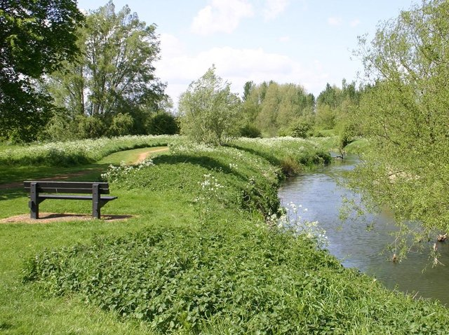 The victim was walking in Ouzel Valley Park
