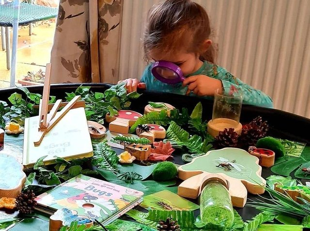 Children love the Teddo learning sets