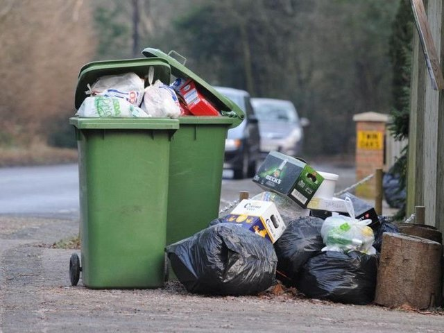 Tories fear overspill rubbish will be banned