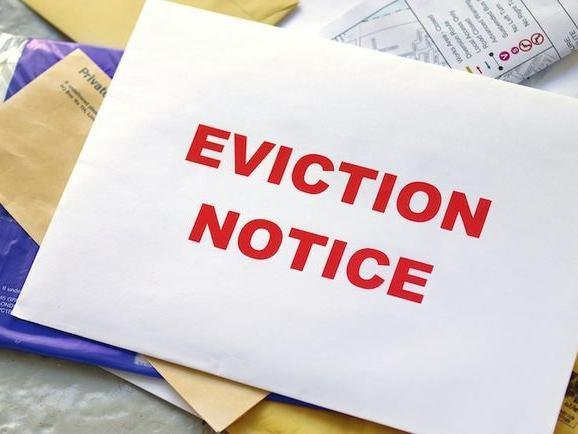 The eviction notice was legal, say the landlord and tenant