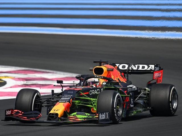 Max Verstappen was third fastest on Friday morning