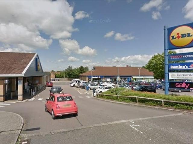 The local centre in Oldbrook