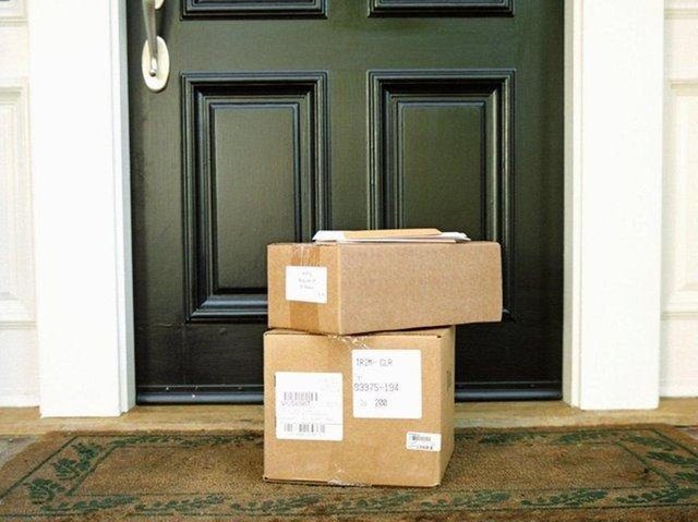 Residents complained parcels had been stolen from their doorsteps