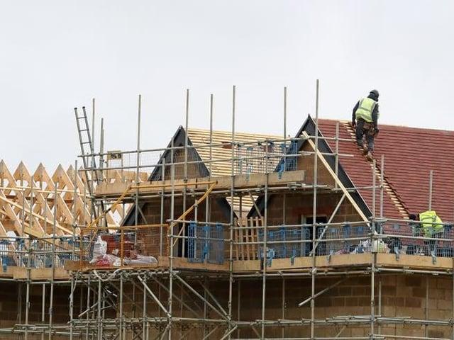 Building work on affordable homes in Milton Keynes has plummeted