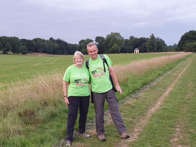 Two walkers from last year's event