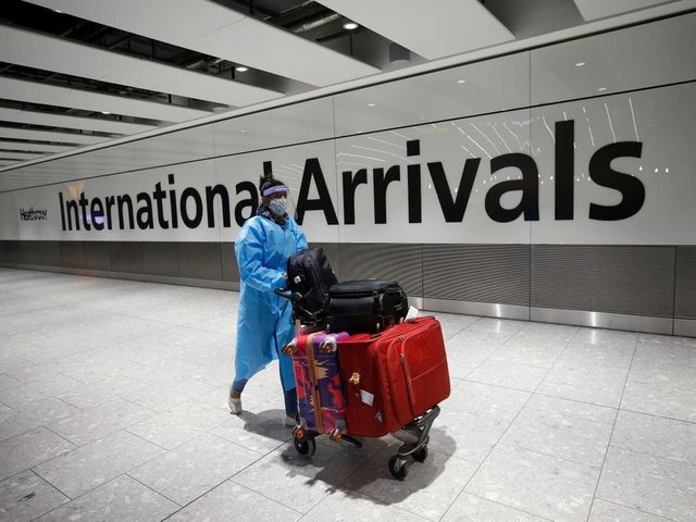 Travellers arriving from red list countries must quarantine for 10 days in an approved hotel