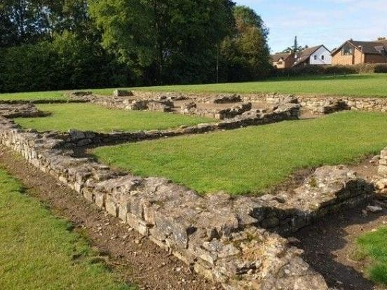 A Roman Villa was discovered when the new estate of Bancroft was being built in the early 70s. Clues had already come after fragments of Roman pottery were noticed in the banks of nearby Loughton Brook in 1967.  The area was carefully excavated over the next 15 years to reveal the villa's underfloor heating system with a limestone open hearth, a bath suite, colonnaded verandas and porch and an ornamental walled garden with fish pond and a summerhouse.  Among the Roman artefacts uncovered were Samian tableware, a limestone board game, silver-bronze brooches, decorated hair combs and around 1,000 coins Today the site shows the outline of the villa and its rooms. You can discover it by visiting Bancroft in North Loughton Valley Park.