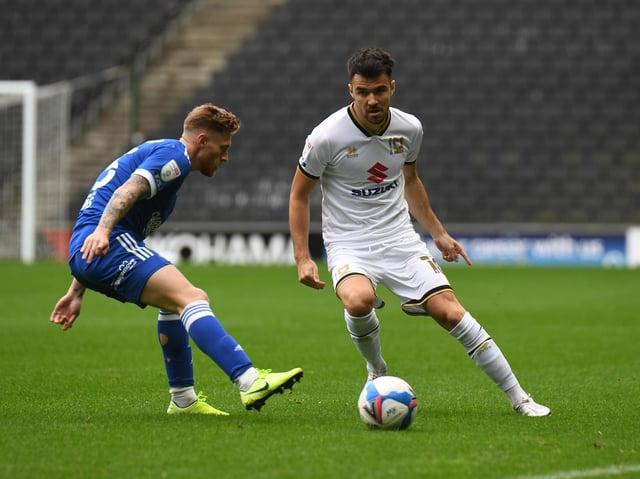 Scott Fraser in action against Ipswich last season