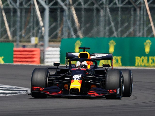 Verstappen was the winner of the 70th Anniversary Grand Prix at Silverstone last year