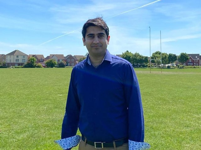 Saeed Nazir is the youth youth leader for the Ahmadiyya Muslim Youth Association in Milton Keynes