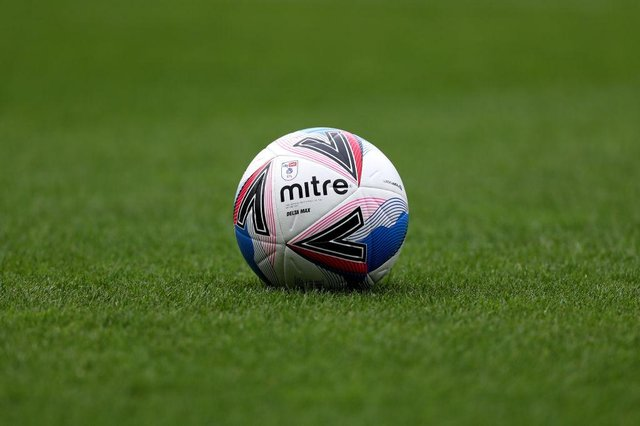 EFL match ball. (Photo by George Wood/Getty Images)